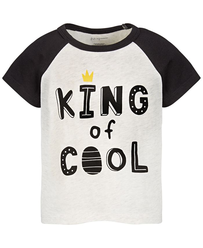 First Impressions - Baby Boys King Of Cool T-Shirt