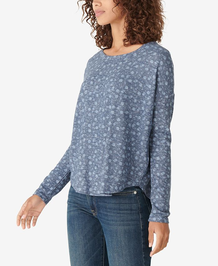 Lucky Brand - Cotton Knit Top