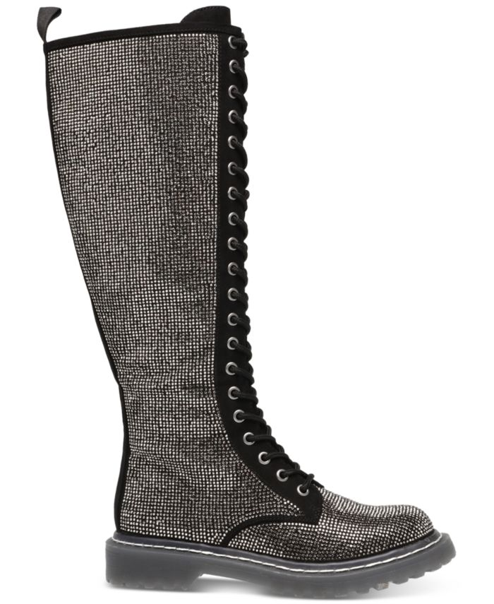 Wild Pair Rylee Combat Boots, Created for Macy's & Reviews - Boots - Shoes - Macy's