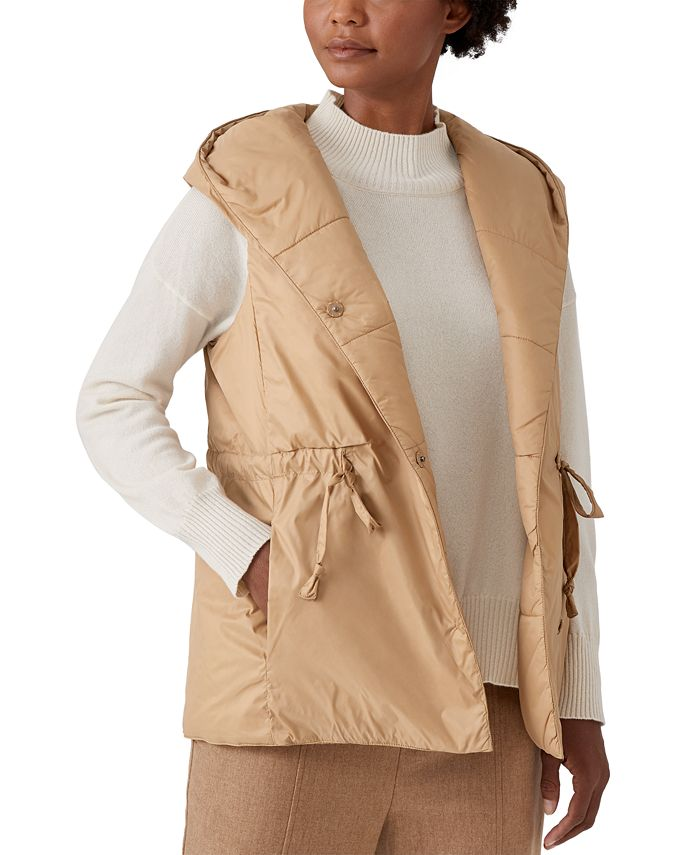 Eileen Fisher - Hooded Vest