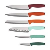 Farberware Nova 12-Piece Cutlery Set with Ergonomic Handles