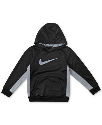 Nike Kids Hoodie, Little Boy Therma-FIT Swoosh Hoodie - Kids - Macy's