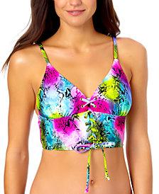California Waves Juniors Cami Bikini Top, Created for Macy's