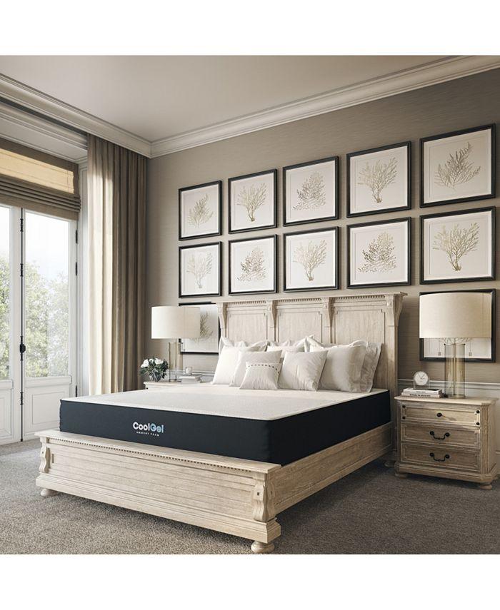 "Sleep Trends - Ladan Twin 10.5"" Cool Gel Memory Foam Cushion Firm Mattress, Direct Ship"