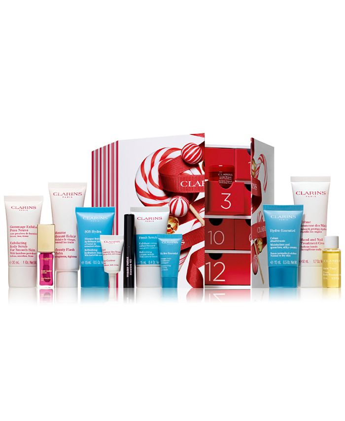 Clarins - 12-Pc. Limited Edition Advent Calendar Gift Set