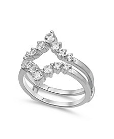 Diamond Enhancer Ring Guard (1 ct. tw.) in 14K White or Yellow Gold