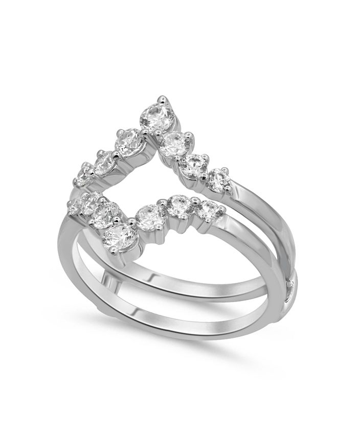 Macy's - Diamond Enhancer Ring Guard (1 ct. tw.) in 14K Gold