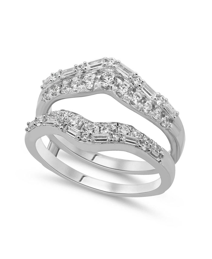 Macy's - Diamond Enhancer Ring Guard (1 ct. t.w.) in 14K Gold