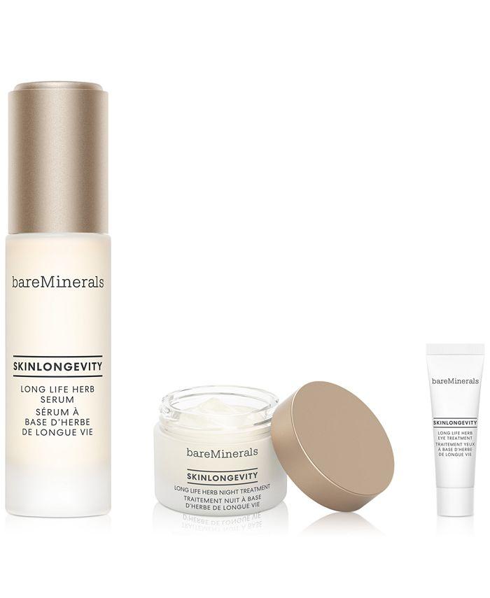bareMinerals - 3-Pc. Mini Skinlongevity Long Life Herb Set