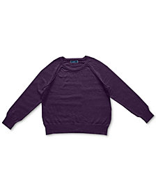 Karen Scott Crewneck Cotton Sweater, Created for Macy's