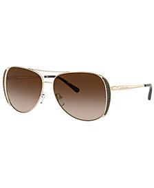 Michael Kors Chelsea Glam Sunglasses, MK1082 58