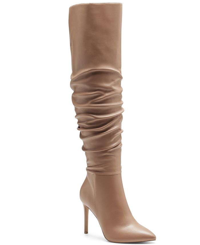 INC International Concepts - Women's Iyonna Over-The-Knee Slouch Boots