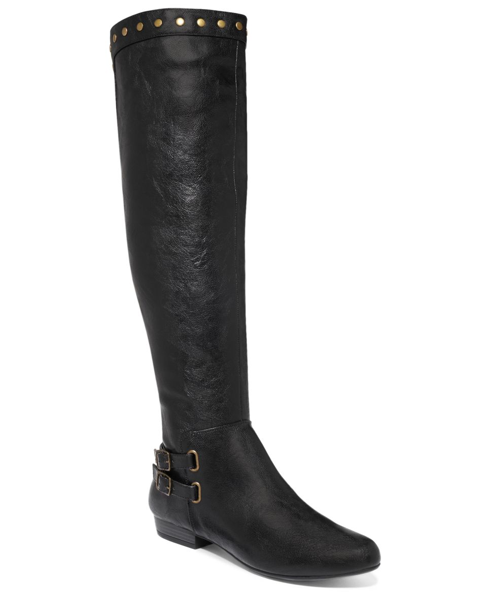 Kenneth Cole Reaction Womens Raw Deal Buckle Boots   Shoes