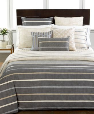 Hotel Collection Modern Colonnade Quilted European Sham