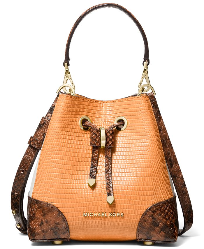 Michael Kors - Mercer Gallery Extra Small Leather Convertible Bucket Bag