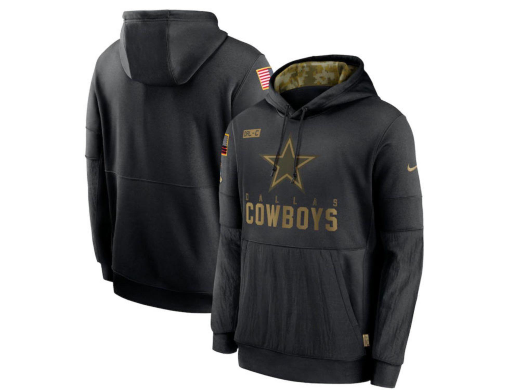 Nike Dallas Cowboys 2020 Men's Salute to Service Therma Hoodie & Reviews - NFL - Sports Fan Shop - Macy's