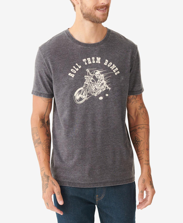 Lucky Brand Men's Roll Them Bones T-shirt & Reviews - T-Shirts - Men - Macy's