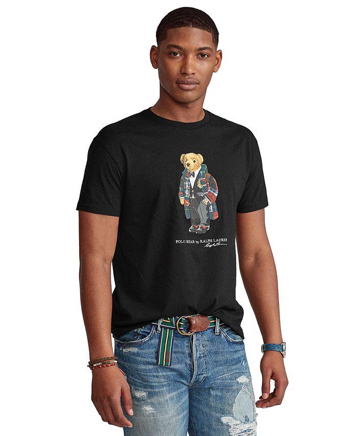 Polo Ralph Lauren Men's Classic-Fit Holiday Bear T-Shirt & Reviews ...