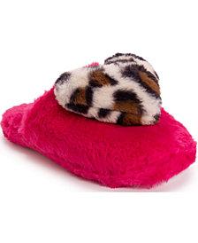 Betsey Johnson Women's Heart Slippers