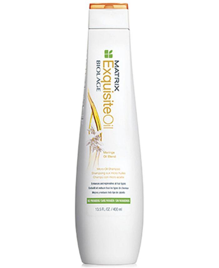 Matrix - Biolage Exquisite Oil Shampoo, 13.5-oz.