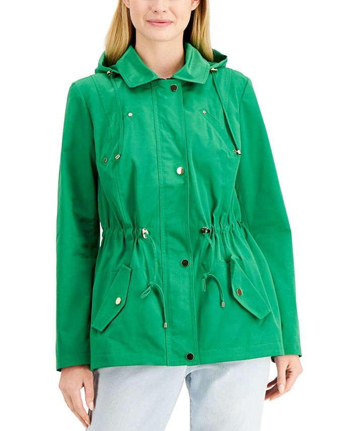 Charter Club - Petite Anorak Rain Jacket