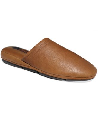 evans duke leather scuff slippers shoes men macy 39 s