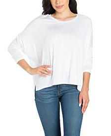 Women's Oversized Long Sleeve Dolman Top