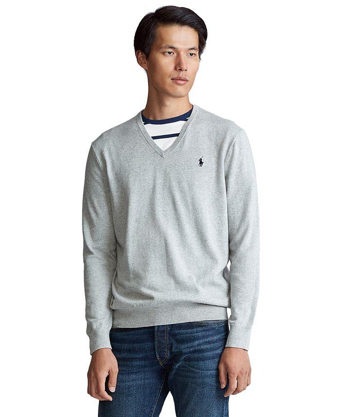 Polo Ralph Lauren - Men's Cotton V-Neck Sweater