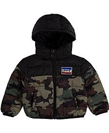 Levi's Baby Boys Chenille Puffer Jacket
