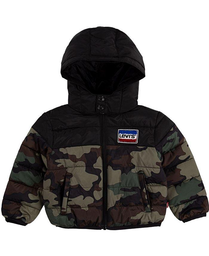 Levi's - Baby Boys Chenille Puffer Jacket