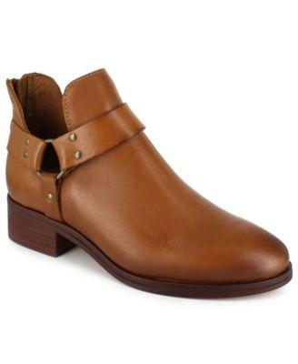 Garnie Harness Leather Booties
