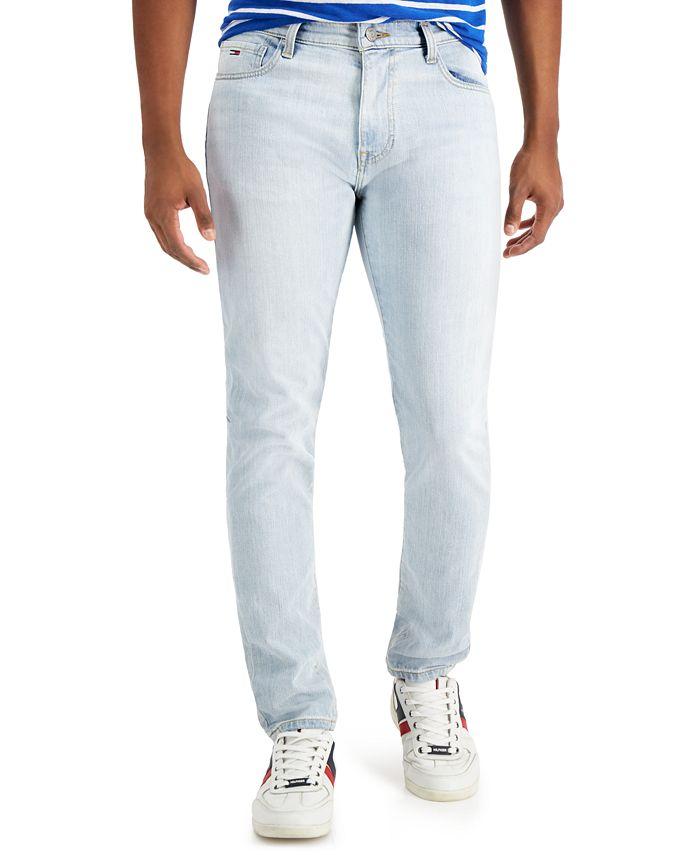 Tommy Hilfiger - Men's Adam Slim-Fit Tapered Jeans