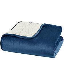 "Sleep Philosophy Velvet to Berber Weighted Blanket, 60"" x 80"" - 15 lbs"
