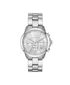 Michael Kors Women's Bradshaw Chronograph Stainless Steel Bracelet Watch 40mm
