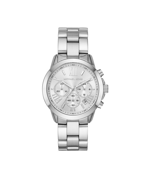 Michael Kors Women's Bradshaw Chronograph Stainless Steel Bracelet Watch 40mm
