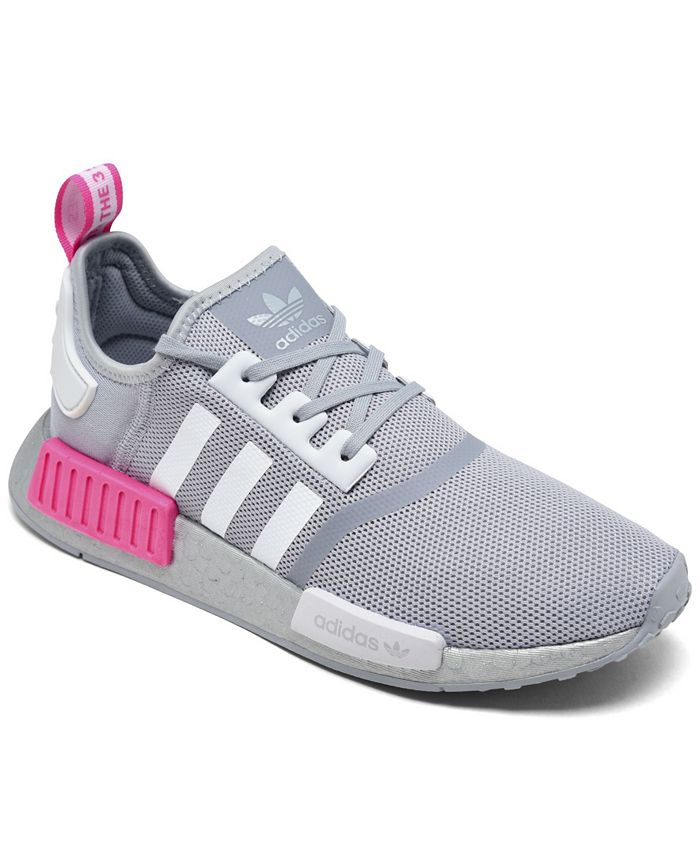 Big Girls NASA Artemis NMD R1 Casual Sneakers from Finish Line