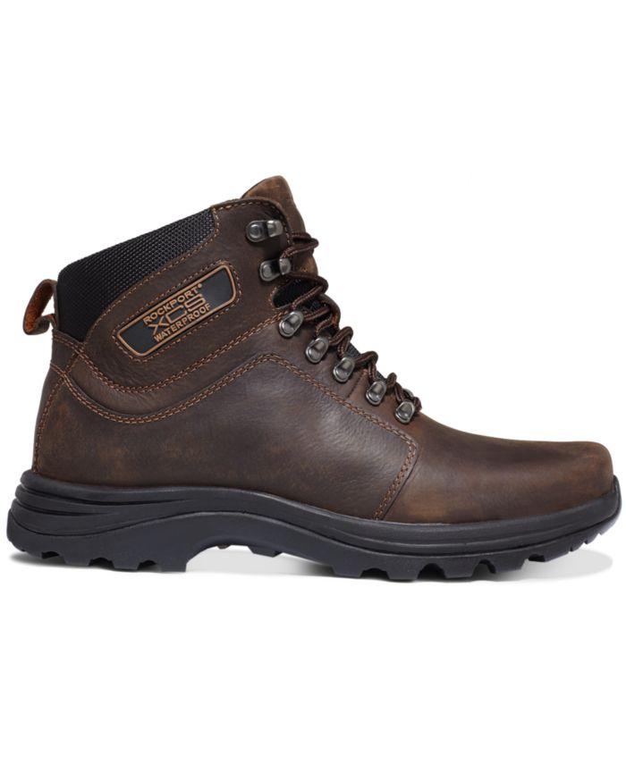Rockport Elkhart Waterproof Lace-Up Boots & Reviews - All Men's Shoes - Men - Macy's