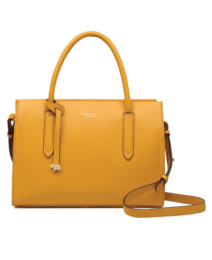 Radley London - Medium Zip-Top Convertible Leather Bag