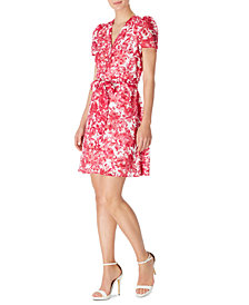 INC Belted Floral-Print Mini Dress, Created for Macy's