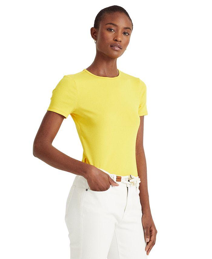 Lauren Ralph Lauren - Ribbed T-Shirt