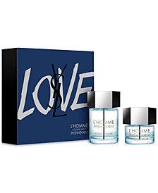 Yves Saint Laurent Men's 2-Pc. L'Homme Cologne Bleue Eau de Toilette Gift Set