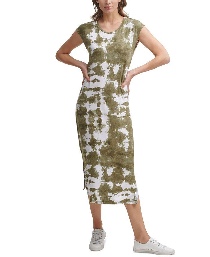 Calvin Klein - Tie-Dyed Midi Dress