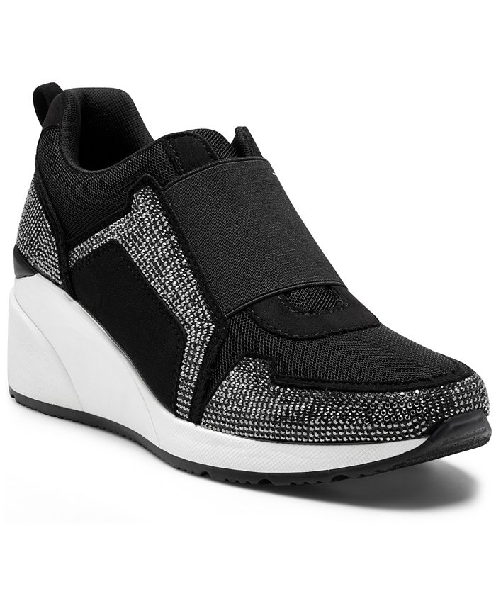 INC International Concepts - Women's Heily Stretch Wedge Sneakers