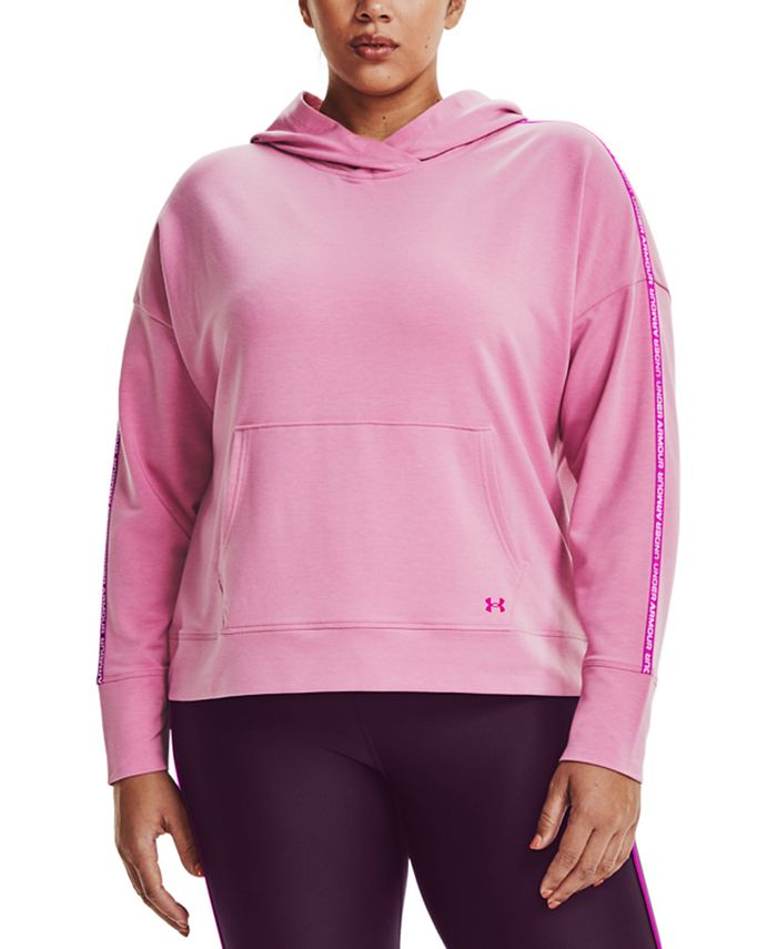 Under Armour - Plus Size Rival Logo Hoodie