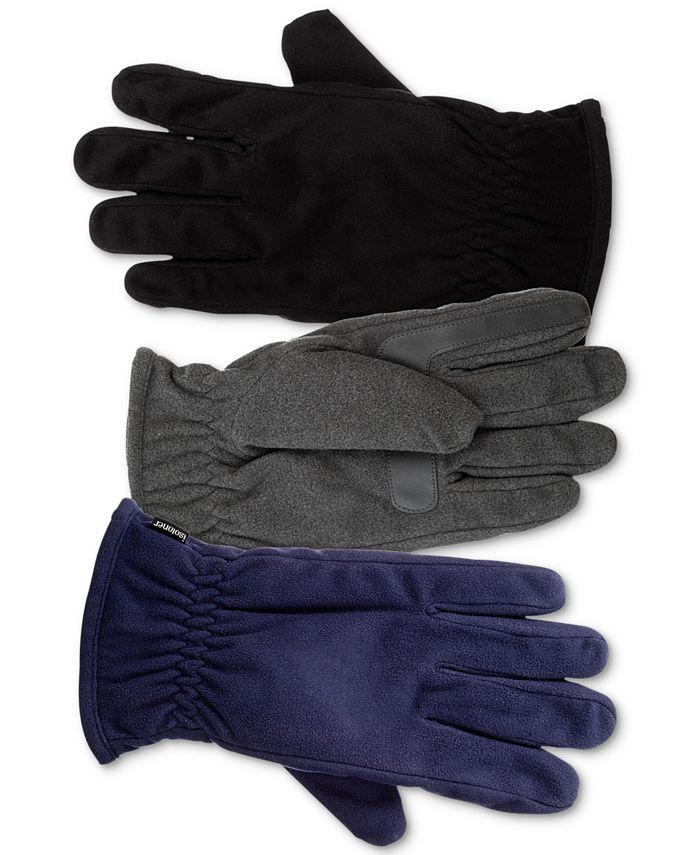 Isotoner Signature - Men's smartDRI Fleece smarTouch Gloves