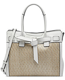 Nine West Gabriella Jet Set Satchel