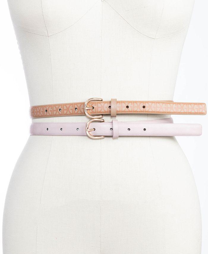 Giani Bernini - 2-For-1 Belts