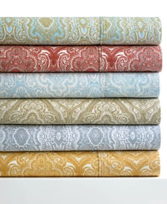 Paisley 300 Thread Count 6 Piece Queen Sheet Set