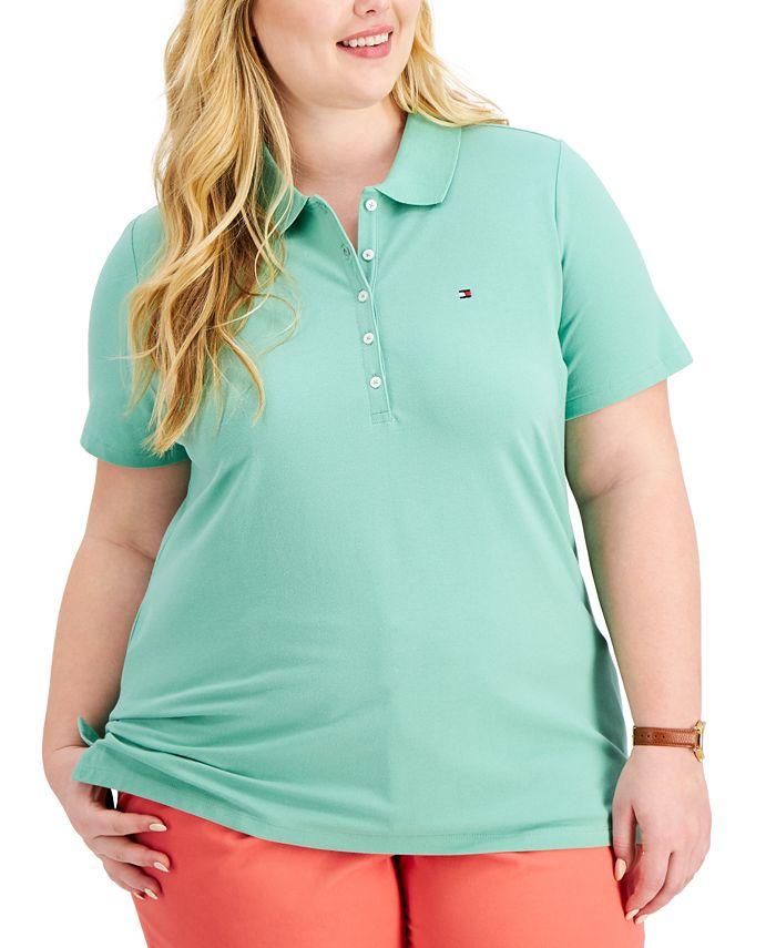 Tommy Hilfiger - Plus Size Piqué Polo Shirt
