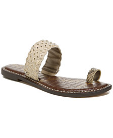 Sam Edelman Women's Germaine Woven Toe-Ring Sandals
